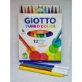 Filctoll GIOTTO Turbo Color 12 szín