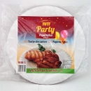 Papírtányér PARTY 25 cm